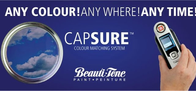 CapsureTM Colour Matching System.